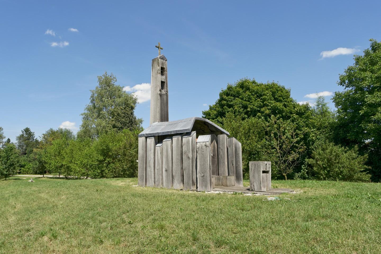 Holzkapelle vor Eggstätt