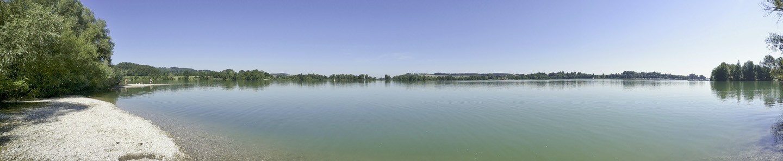 Panorama Waginger See