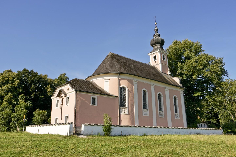 Wallfahrtskirche am Mühlberg in Waging am See