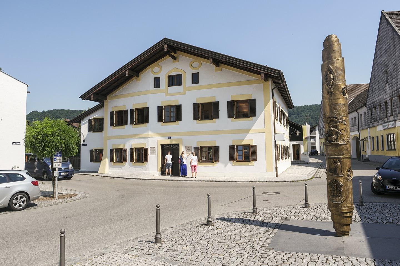 Papst Benedikt Geburtshaus Marktl