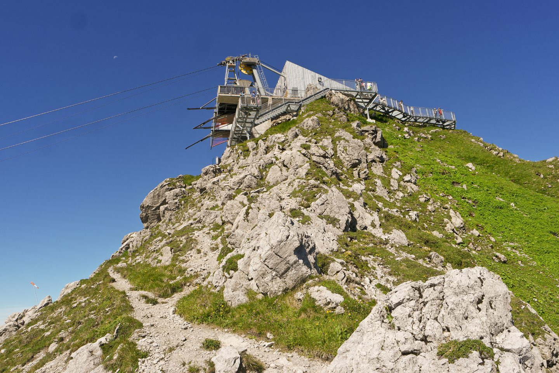 Hindelanger Klettersteig Wengenkopf : Über den hindelanger klettersteig auf großen daumen wo walter