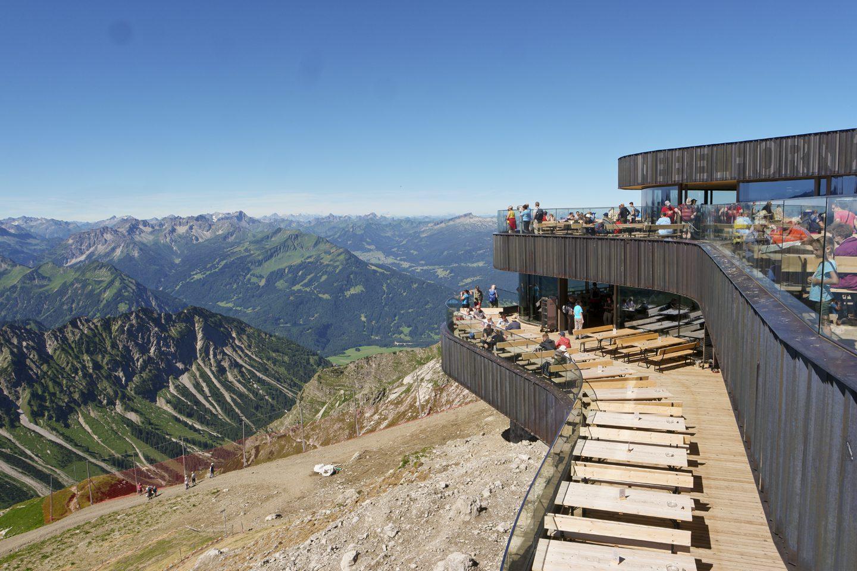 Klettersteig Nebelhorn : Über den hindelanger klettersteig auf großen daumen wo